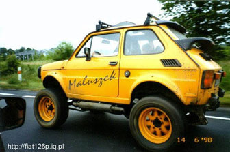 Fiat 126p Maluch Tuning